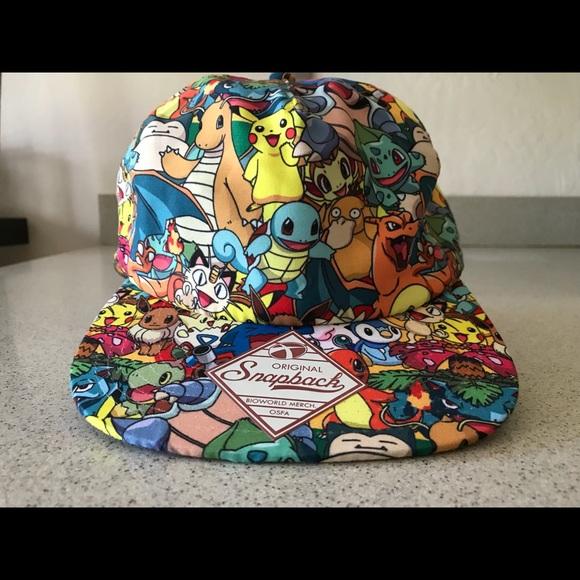 Accessories - Pokémon snap back hat